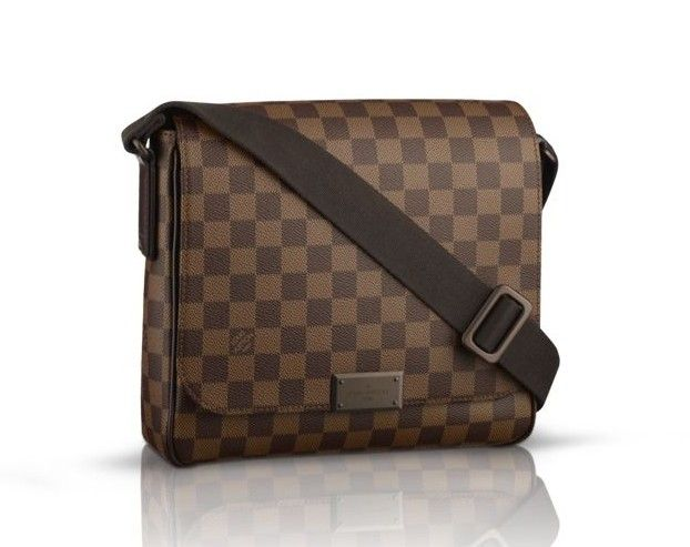e357f085 Louis Vuitton Damier Ebene Canvas District PM N41213 | I like ...