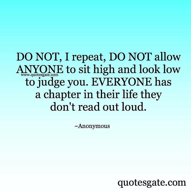 Everyone has a chapter they don't read out loud   quotes