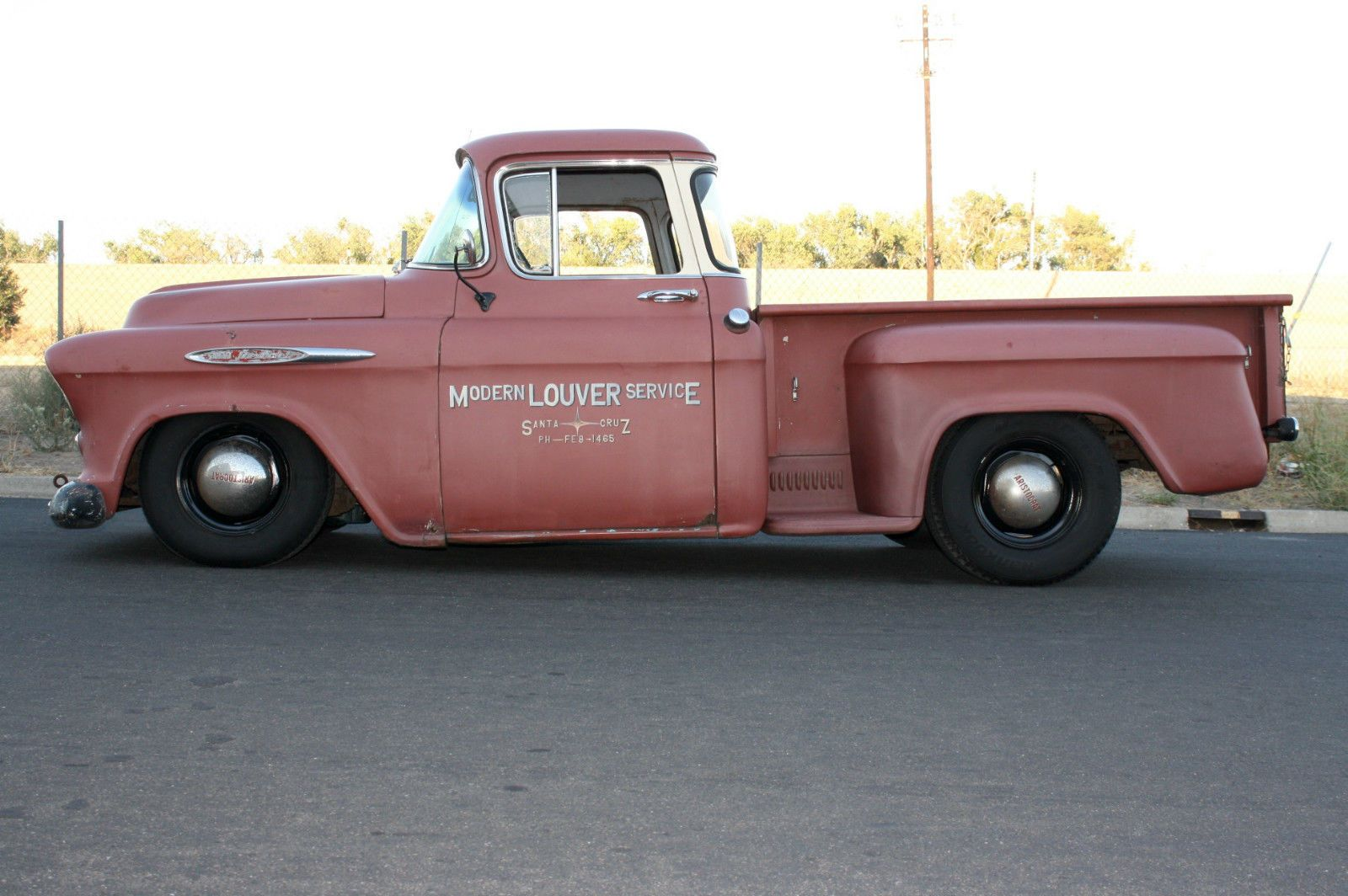 1957 Chevrolet Big Window V8 Pickup 3100 Daily Driver California Truck | eBay