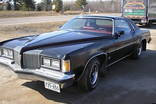 In The Mid 80s We Owned A Black 1976 Pontiac Grand Prix