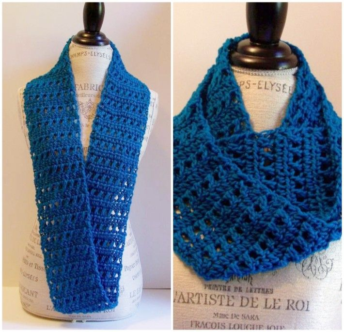 One-Skein Crochet Scarf Patterns to Bust Your Stash | Sarcasticas ...