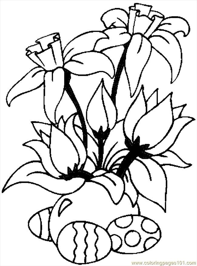 Free Printable Coloring Pages Of Flowers And Vines Free