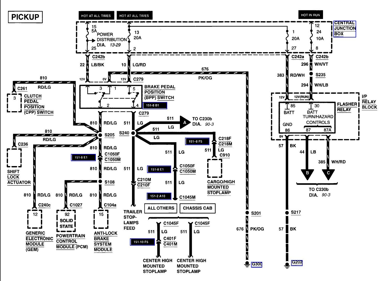 Ford 7 3 Idi Wire Schematic In 2020 Electrical Wiring Diagram Ford Ford Probe