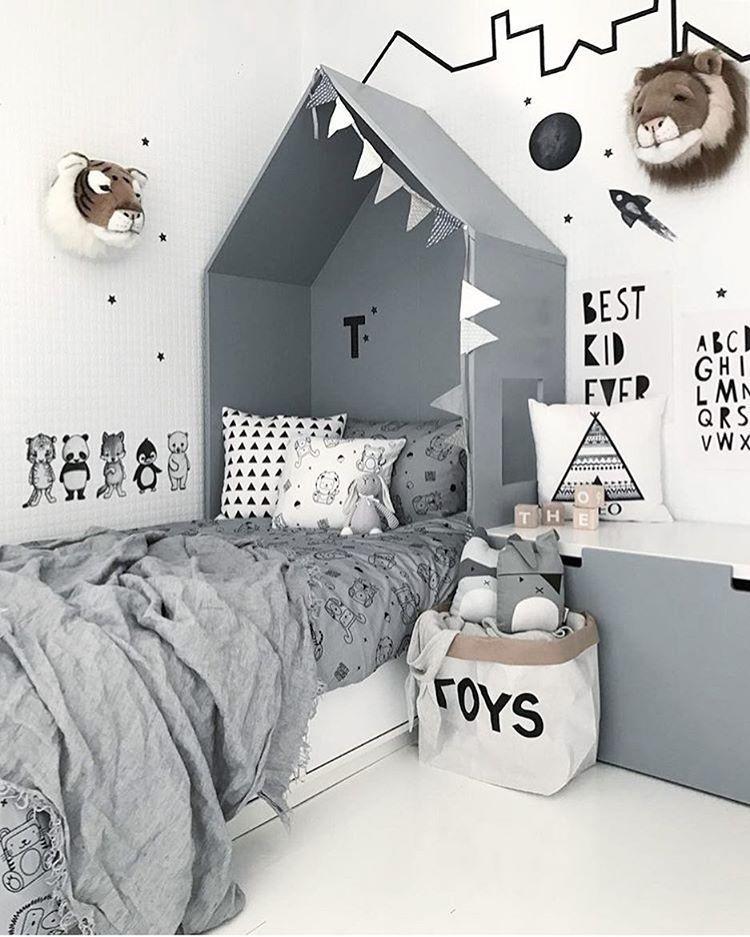 Lasciati ispirare a creare una camera da letto alla moda per i bambini con queste decorazioni