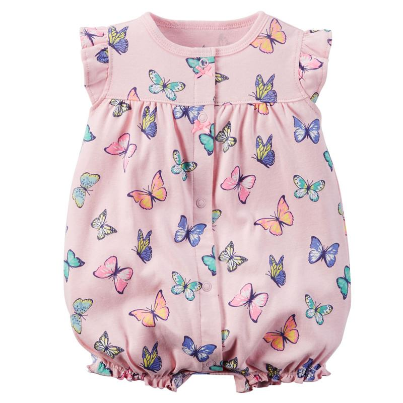ec782713dfedb Baby Rompers Summer Baby Girl Clothes 2017 Baby Girl Dress Cotton ...