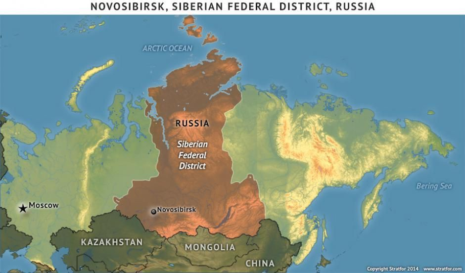 Novosibirsk Siberian Federal District Russia Httpinfo - Us navy ships aircraft carriers movement stratfor maps