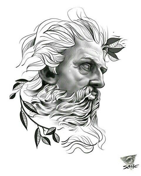 Pin Tillagd Av Daniel Goel På Tattoos Tatuagem De Estátua