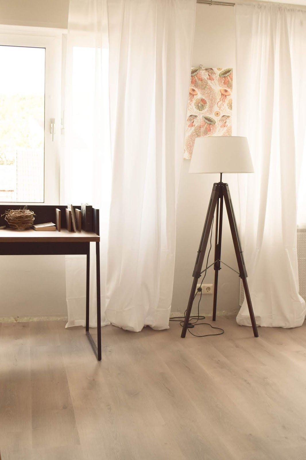 AuBergewohnlich Interior Einrichtung Vorhang Schlafzimmer Blickdicht Schreibtisch Filigran  Stehlampe Deko Dekoidee