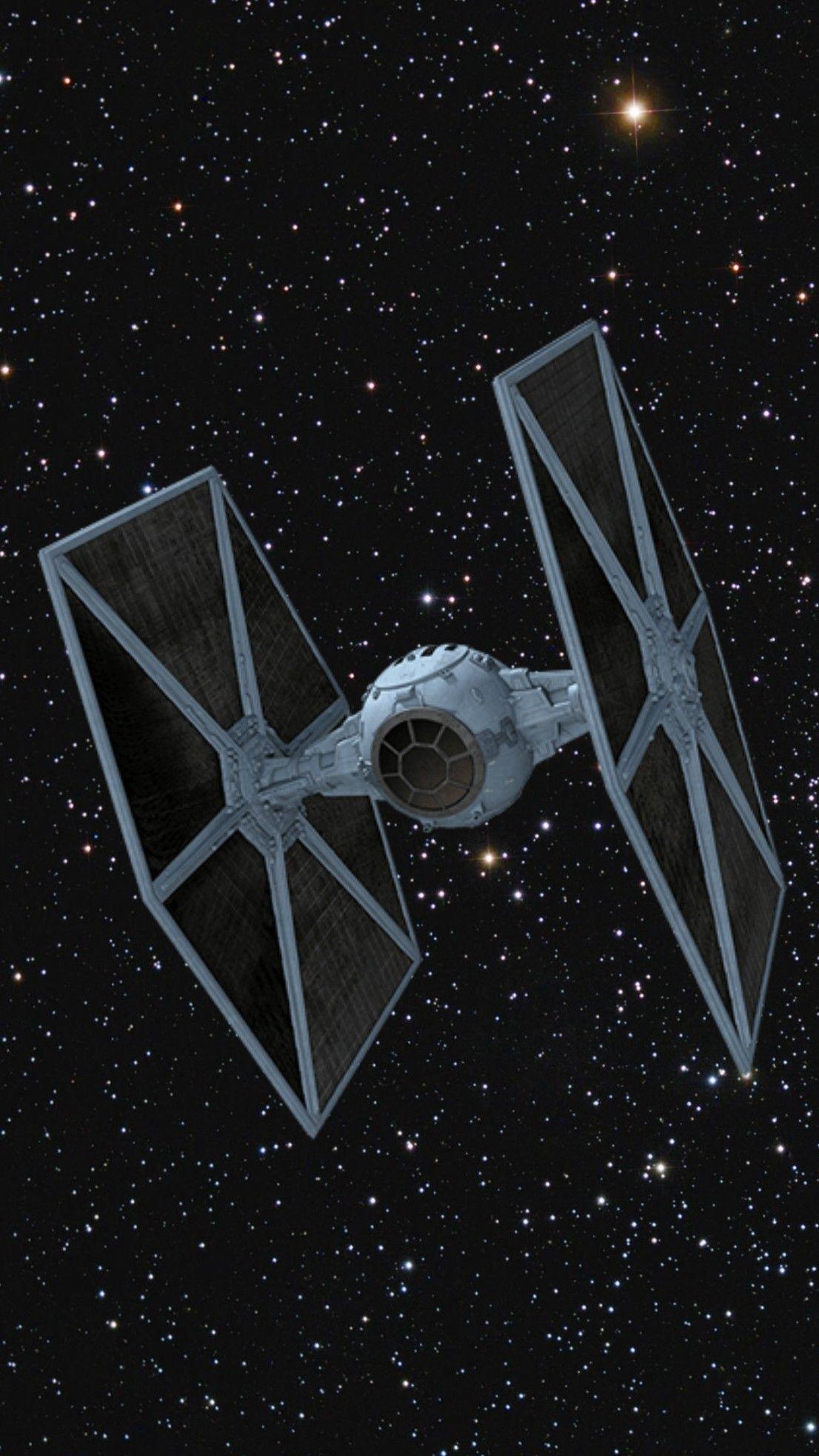 Darth Vader S Predominance Of Space Advantage Tie Fighter Star Wars Art Star Wars Poster Star Wars Wallpaper