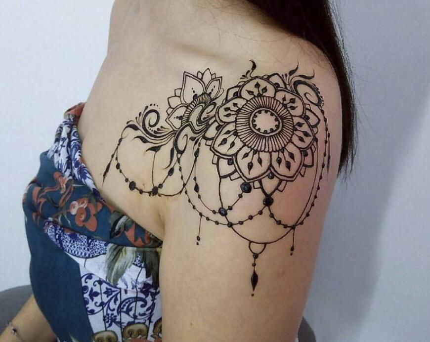 Tattoo Designs For Women Shoulder Tattoos For Women Lace Tattoo