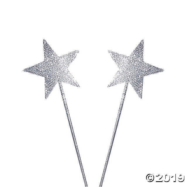 Silver Glittery Star Wands Oriental Trading Star Wand Wands Sparkles Glitter