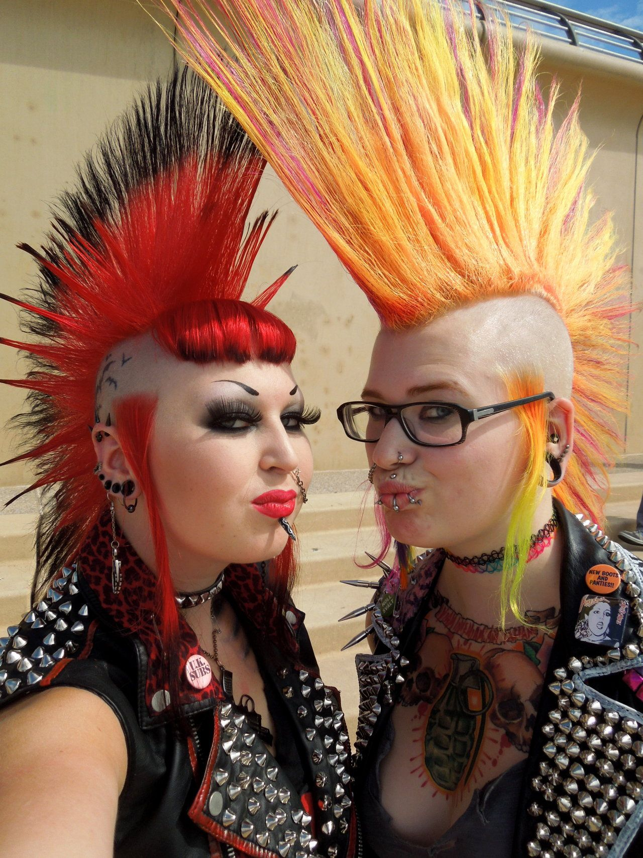 Pollution mohawk pinterest