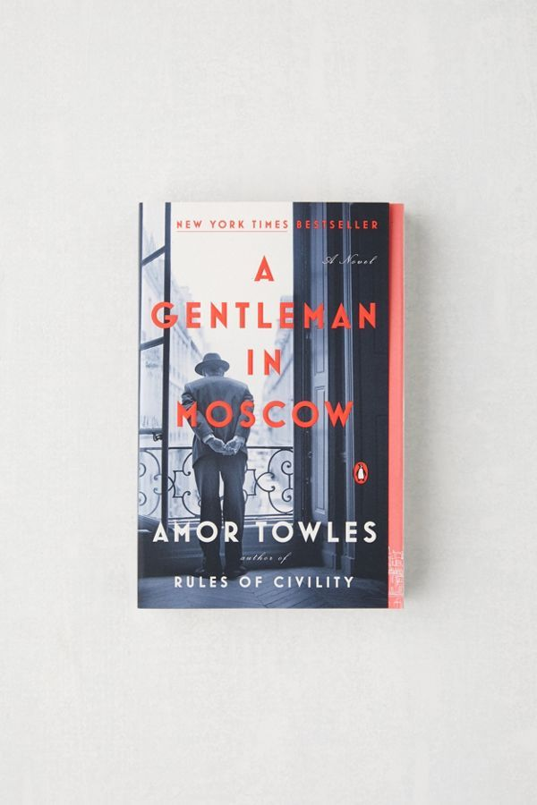 A Gentleman in Moscow: A Novel By Amor Towles | Urban Outfitters