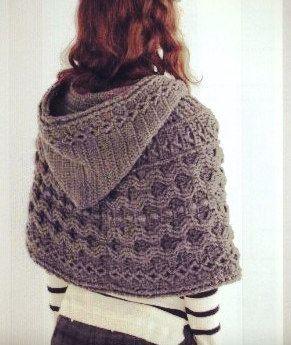 Crochet poncho cape scarf hood winter fall accessories shawl women custom made by CopperLife on Etsy https://www.etsy.com/listing/476210717/crochet-poncho-cape-scarf-hood-winter