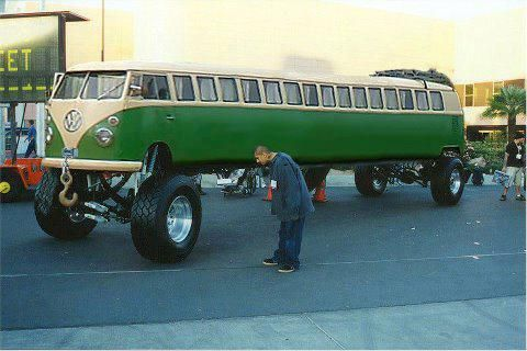 VW Bus Limo Style!