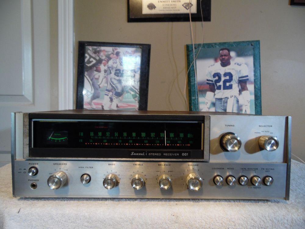 Vintage Sansui 661 AM/FM Stereo   SANSUI 4 SALE on Ebay or