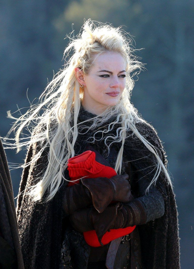 Emma Stone Just Debuted Long Blonde Hair And She Looks Like