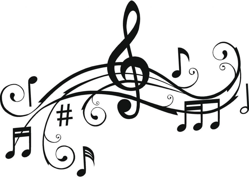 music note coloring pages for kids