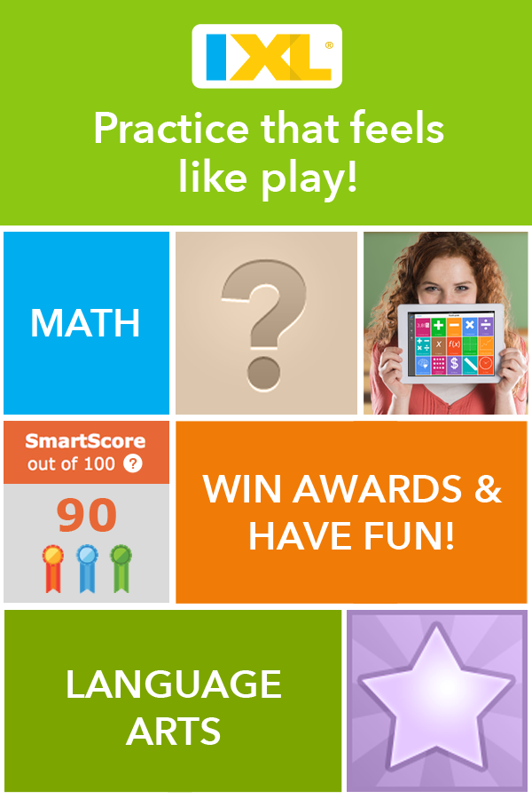 Make practice feel like play with fun, interactive questions on IXL ...