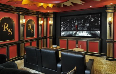 Lavish, Custom Home Theater In Houston By Relative Home Systems. Room Design  By Jane Part 93