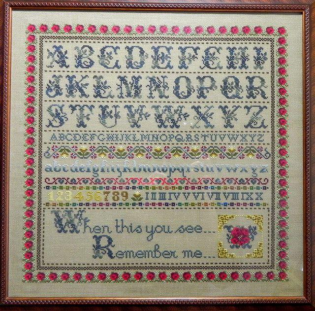 Cross Stitch Sampler | Flickr - Photo Sharing!