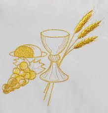 Resultado De Imagen Para Espigas De Trigo Bordadas Pintura De Natal Toalha Para Batizado Bordado Em Fita