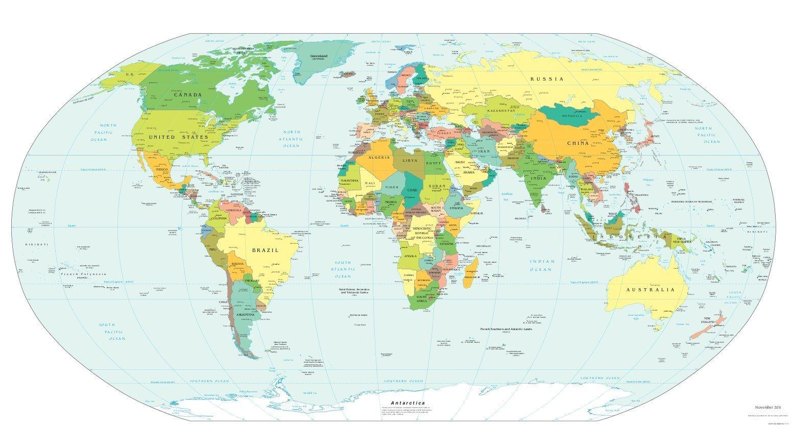 Weltkarten World Maps Illustrierte Karten Weltkarte