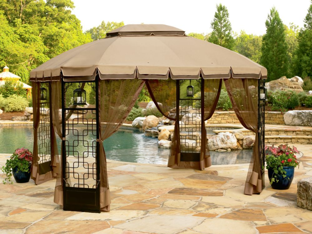 Gazebos And Canopies Oasis Trellis Gazebo 10 X 10