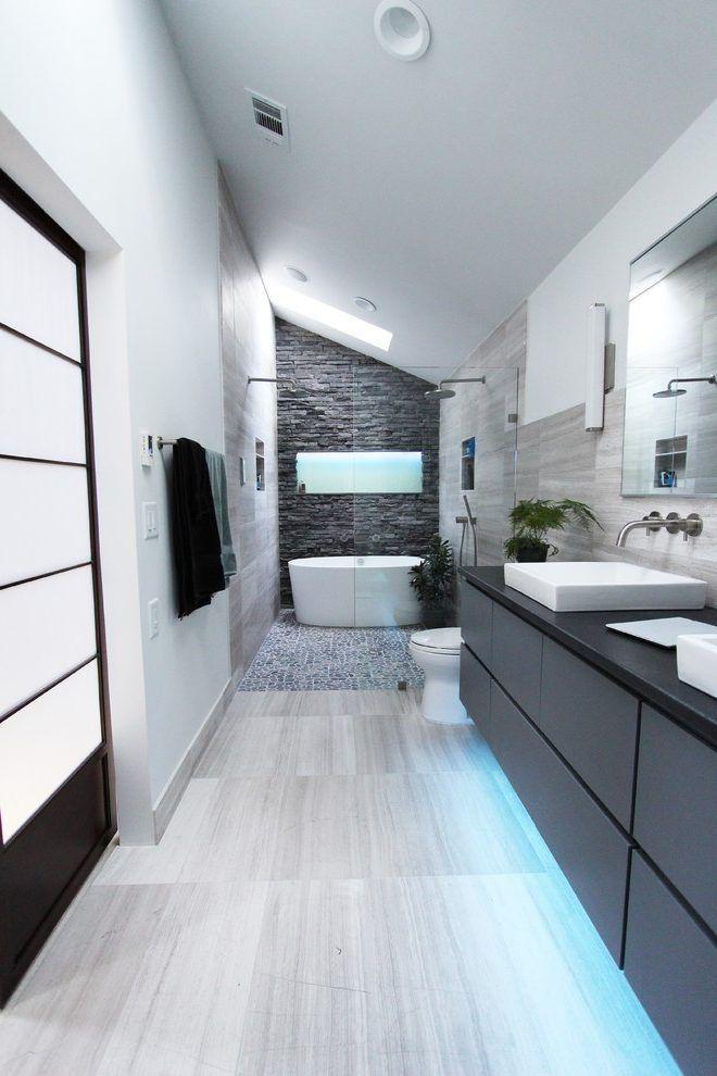 dishy pebble bathroom floor amazing ideas with stacked