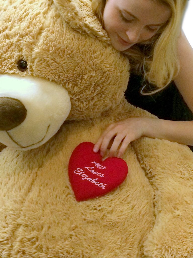 94be70c3213 Big Plush ON SALE!!! Personalized Giant Teddy Bears and Custom Large Stuffed  Animals
