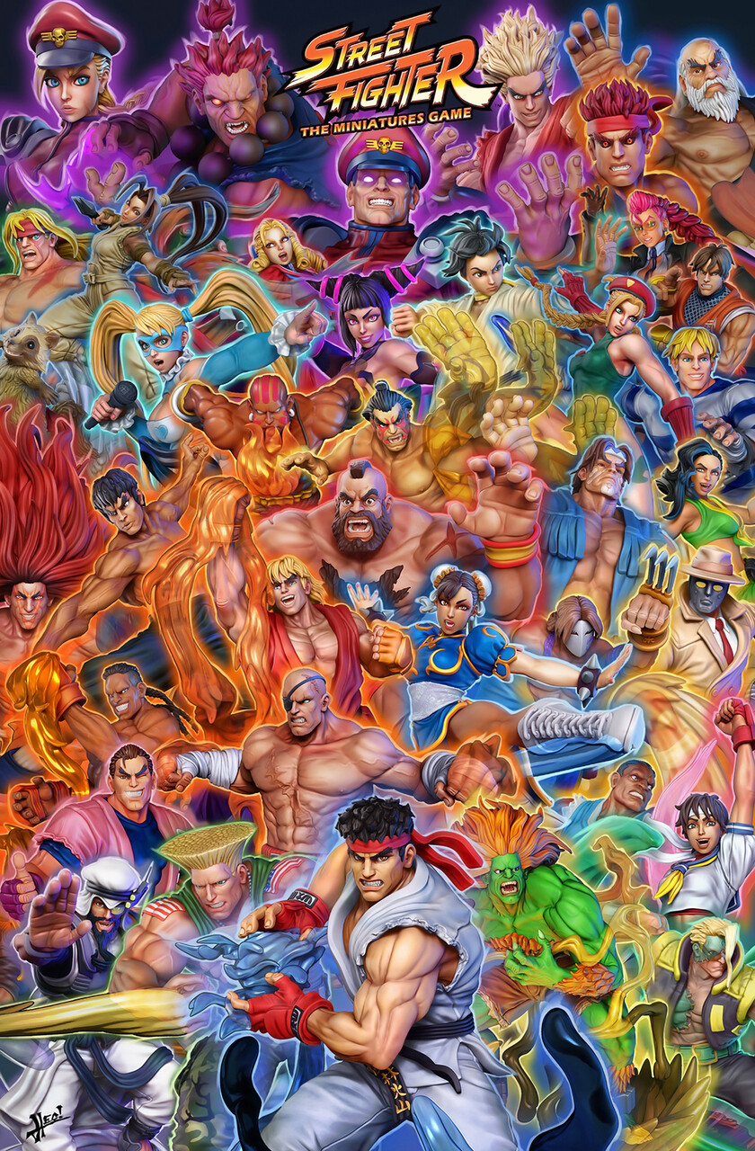 street fighter video game characters