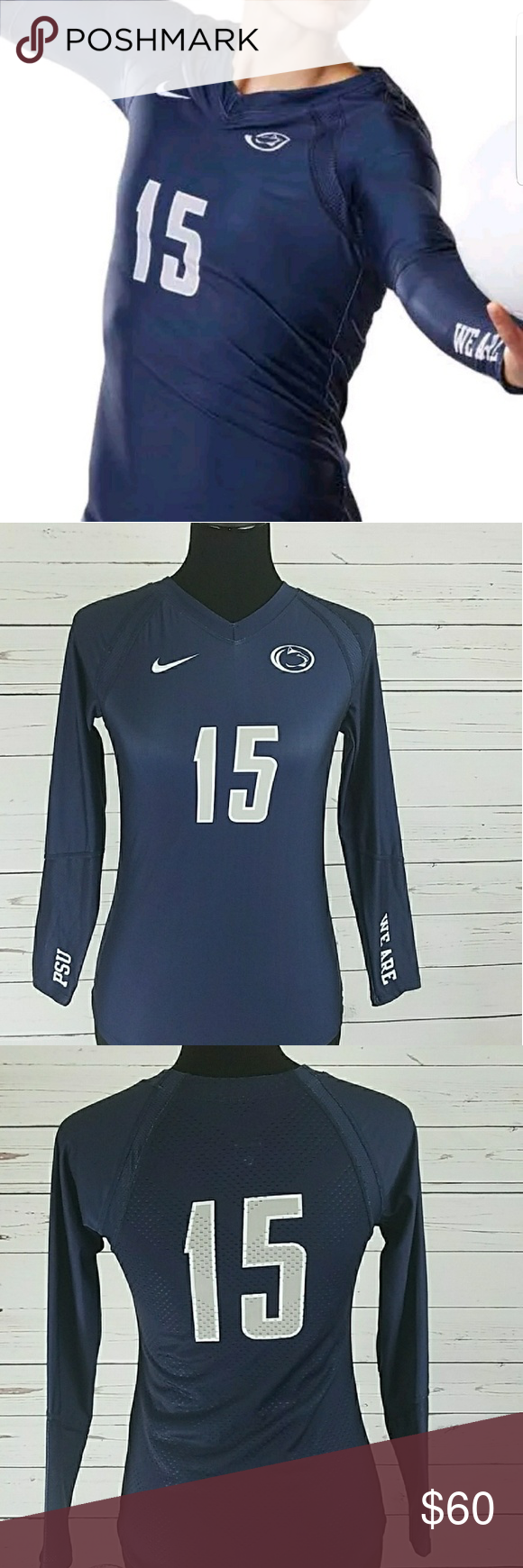 Penn State Nittany Lions Volleyball Jersey Med Clothes Design Fashion Design Fashion