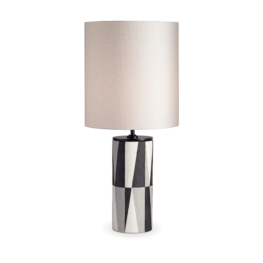 Experience the Cubisme Table Lamp at L'OBJET. Timehonored