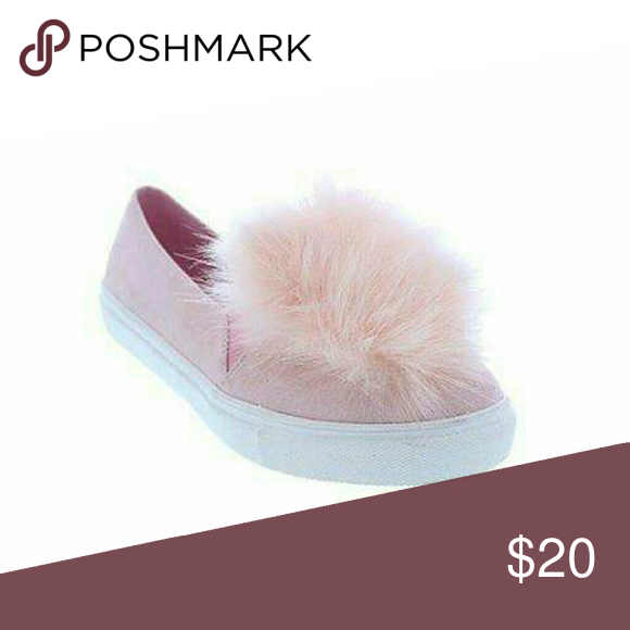 Blush Pom Slip On Boutique  Shoes Sneakers Customer Support And