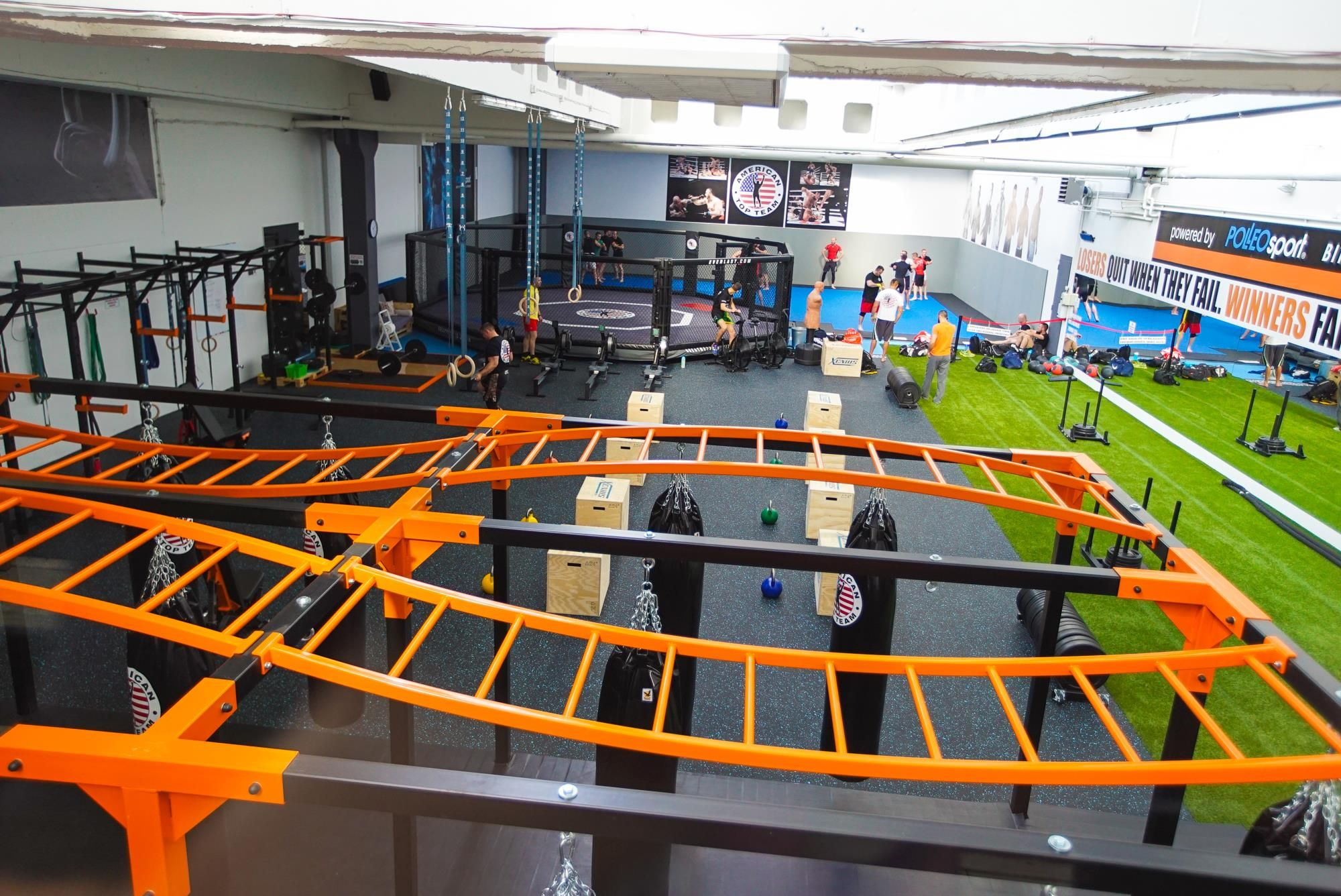 American top team mma gym in zagreb croatia workout rooms gym