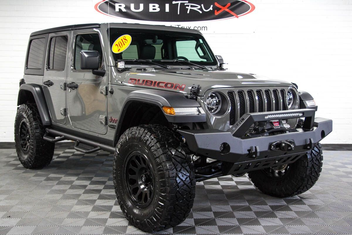 2018 Jeep Wrangler Rubicon Unlimited Jl Sting Gray Jeep Wrangler Unlimited Rubicon Jeep Rubicon Wrangler Rubicon