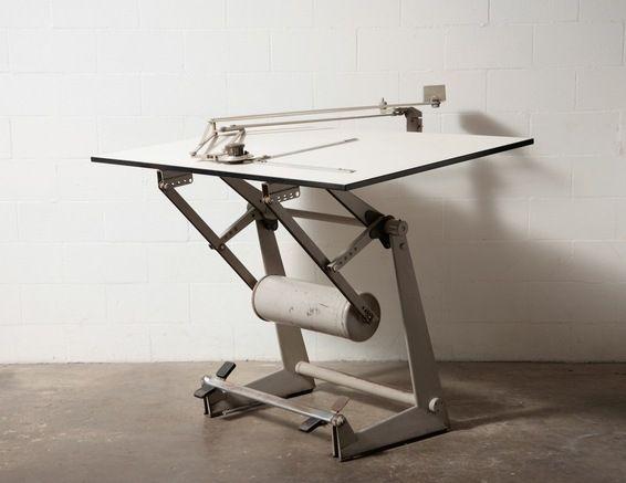 Friso Kramer Professional Drafting Table Drafting Table Vintage