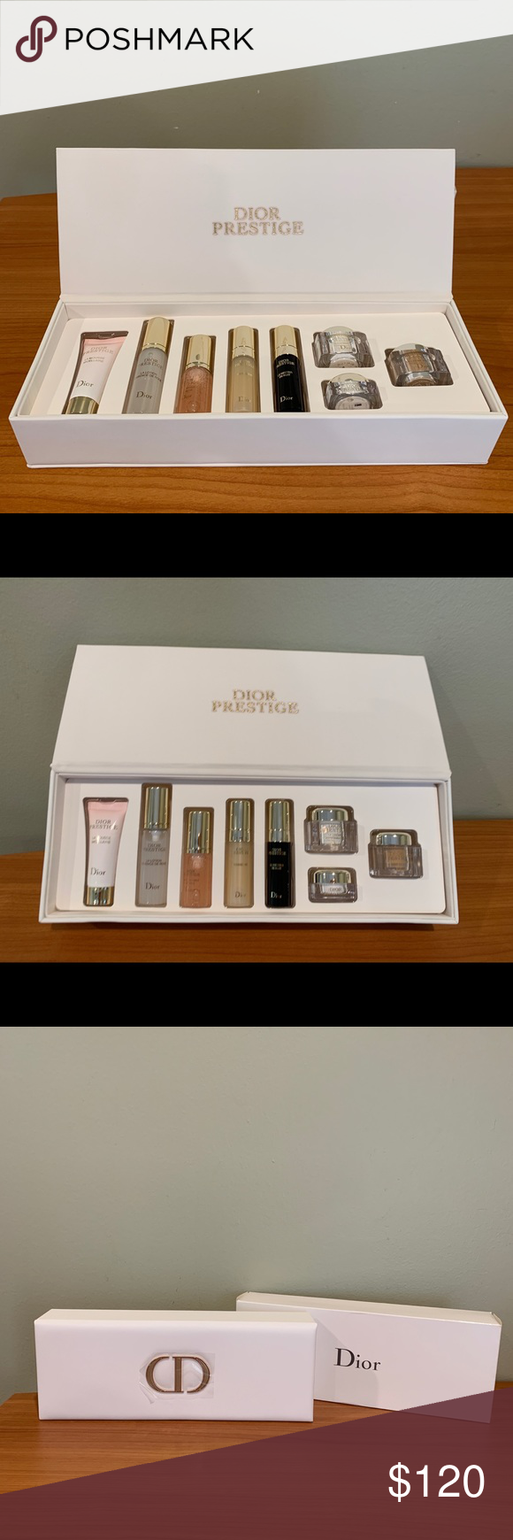 Dior Prestige Care Gift Kit Brand New Comes With The Original Box And Packaging La Mousse Micellaire 10 G 0 35 Oz La Lotion E Gift Kit Things To Sell Dior
