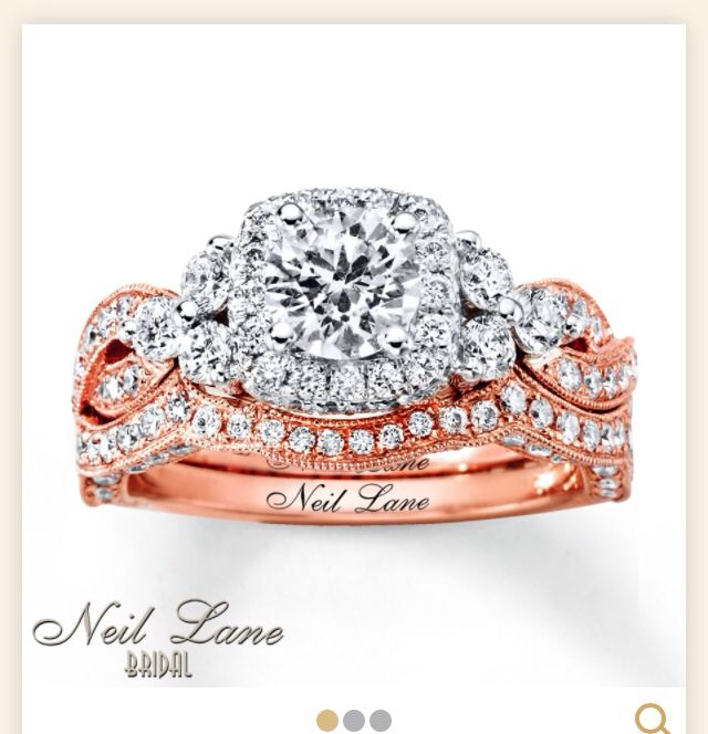 Saw A Ring Similar To This Today And Just Love The Rose Gold So