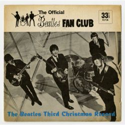 BFCF0160 - Beatles 1965 Fan Club Christmas Flexi Record LYN 948 (UK)