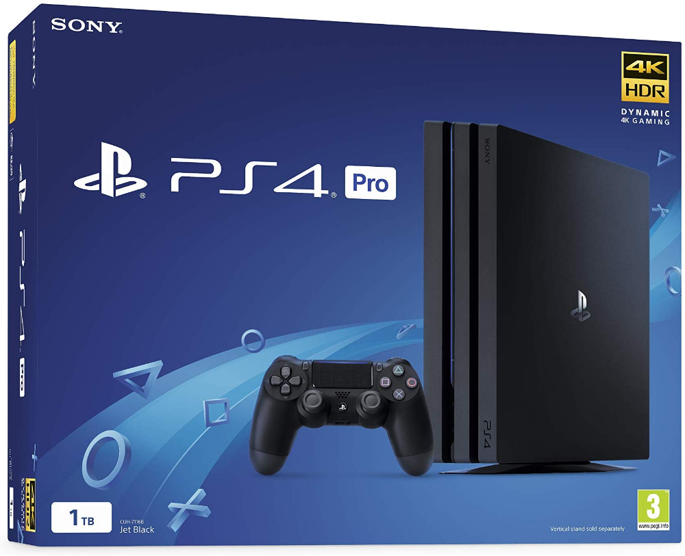 Sony Playstation 4 Pro 1tb Console Black Ps4 Pro Ps4 Console Playstation Ps4 Pro
