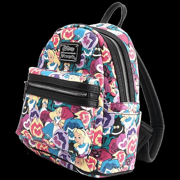 99ae02503572 Táska. Disney - Alice in Wonderland Flower Loungefly Mini Backpack - ZiNG  Pop Culture Csodaország, Kézitáskák