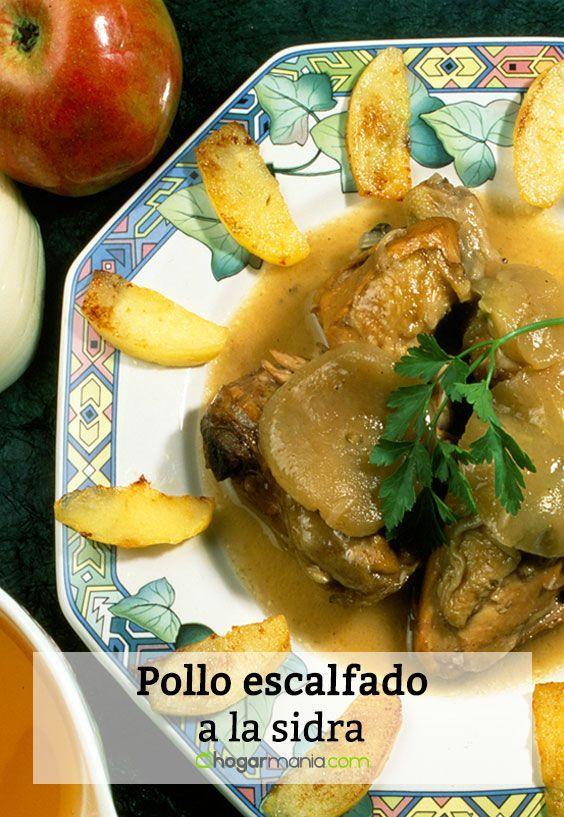 Receta de Karlos Arguiñano de pollo escalfado a la sidra.   Recetas ...