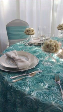 Wedding Design Wedding At Tiffany S Roses Linen Tiffany Blue