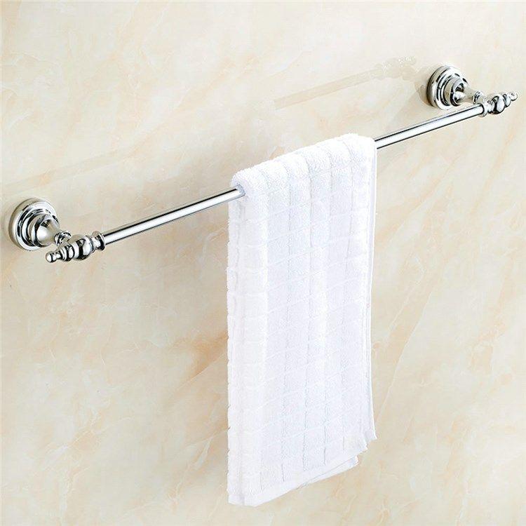 浴室タオルバー タオル掛け タオル収納 壁掛けハンガー バス用品 真鍮