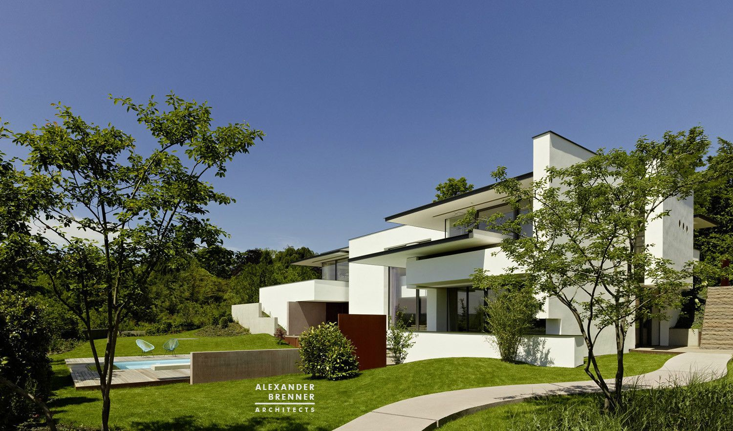 cool Vista House | Alexander Brenner Architects Check more at http://www.arch2o.com/vista-house-alexander-brenner-architects/
