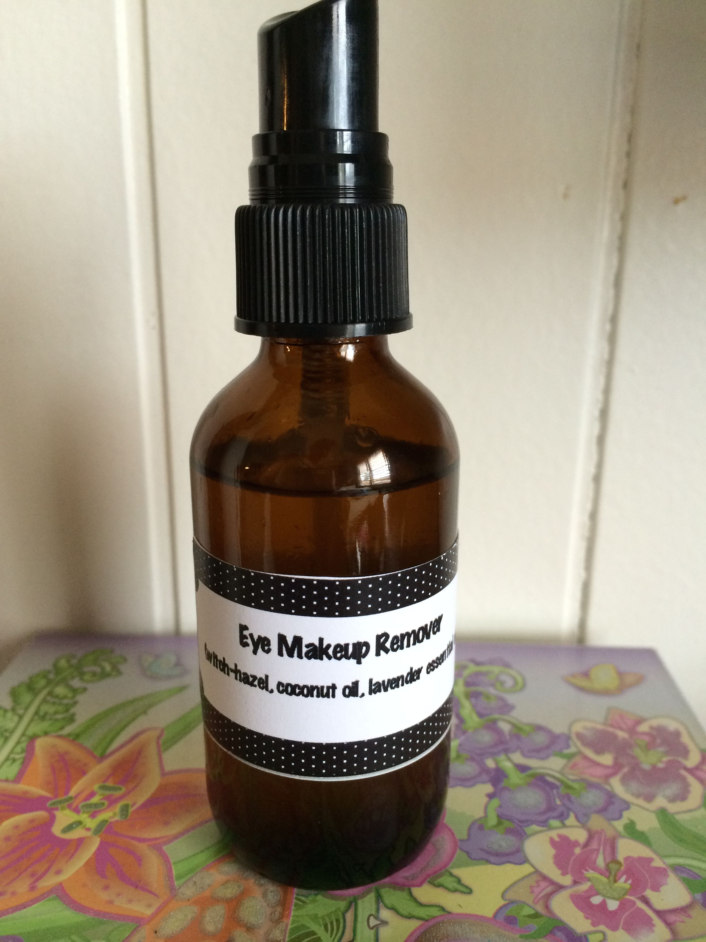 Easy (and cheap) eye makeup remover! 2oz spray bottle, 2