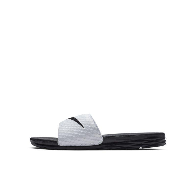 5fc7240dc7f7 Nike Benassi Solarsoft 2 Men s Slide - White in 2019