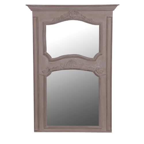 CH Furniture Antique Taupe Double Mirror £180.00