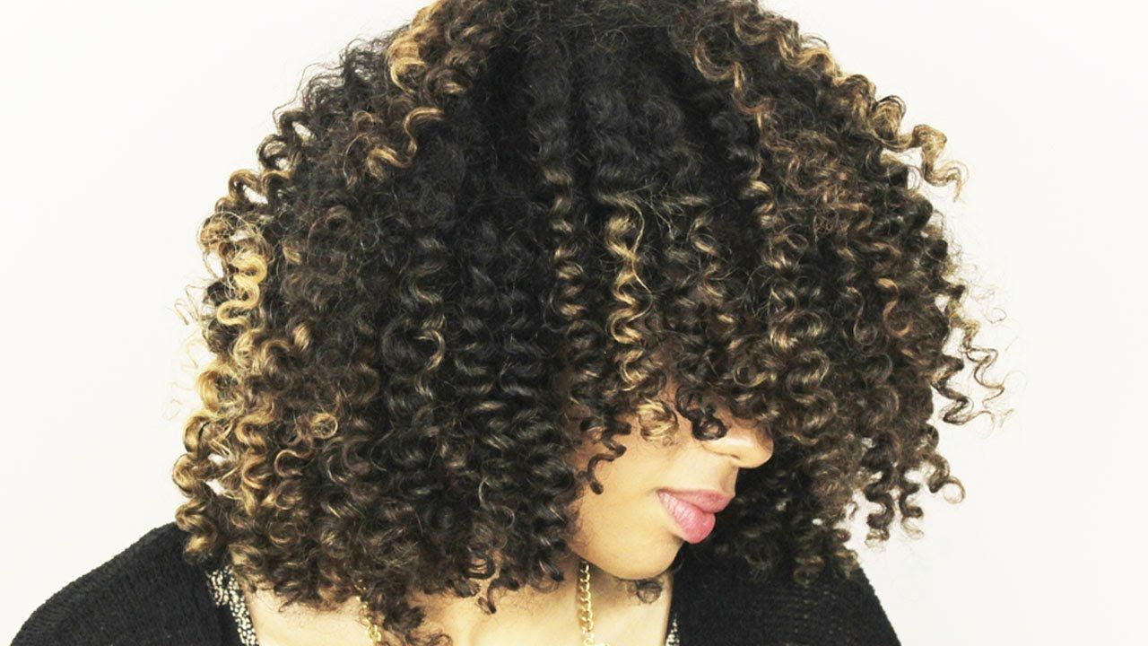 14 || How to: Simple Straw Set Tutorial - bouncy and defined curls ...
